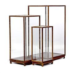 Pols Potten Show Case Set 3 vitrinekastjes