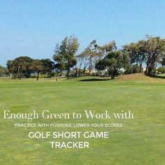 Try to always have enough green to work with when you miss one. But practice the situations when you do not have enough room. It will help make up and down and save par. #lovegolf  #Start2improve #photooftheday #playbettergolf  Golf Short Game Tracker