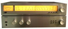 Philips integrated amplifier and AM-FM tuner - Philips Gallery - Audio, Vintage, Vintage Comics, Primitive