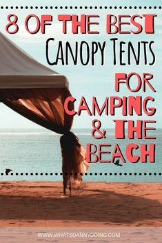 No matter what you're doing outdoors, having shelter from the elements can come in handy. Whether you need to escape the sun, the rain, or the wind, a pop-up canopy tent is perfect for the job. Going camping, to the beach, a festival, or just hosting people for a bbq in your back garden? A camping canopy will help. Check out this guide to the best pop up canopy tent to pick the right canopy tent for the job!  #canopy #camping #beach #campingcanopy #canopytent #popupcanopytent #popupcampingcanopy Camping Canopy, Pop Up Canopy Tent, Beach Canopy, Camping With A Baby, Go Camping, Beach Trip Packing, Tips For Traveling Alone, Tent Reviews, International Travel Tips