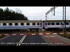 Fast Polish electric locomotive EP07 with passenger express on the route Zielona Gora - Przemysl - YouTube Electric Locomotive, Trains, Polish, World, Youtube, The World, Enamel, Manicure, Nail Polish