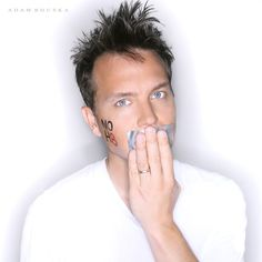 Mark Hoppus - LOVE him! http://www.noh8campaign.com/photo_galleries/387/5837_medium.jpg?1291382653