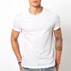 Wholesale high quality plain white t shirt, custom cheap bulk blank white t shirts