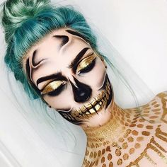 Another awesome halloween look by @erikamariemua  #halloween #makeup