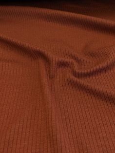Light Weight Modal Rib Knit - Pecan – Sitka Fabrics