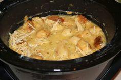 Country Cookin': Chicken Dumplings Crockpot Soup