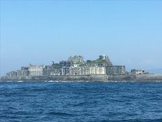 Gunkan Island , Battle Ship Islan, Nagasakiw, Japan
