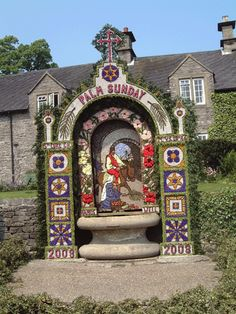 Well Dressing - Peak District - May? - Outdoor