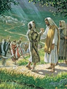 Jesus Heals the Ten Lepers: As we approach the Thanksgiving holiday, I thought I would post something about gratitude. The story of the healing of the ten lepers came to mind, and how only one returned to give thanks.