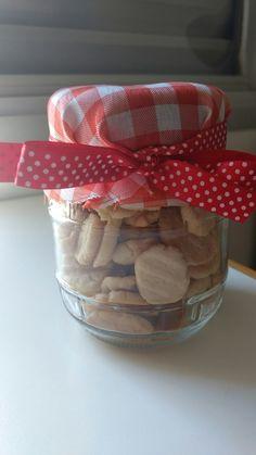 Biscoitinhos amanteigados feitos por mim. 😍 Embalagem tb rs