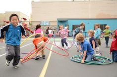 Authentic Spanish playground games and ideas on how to use them to improve language.