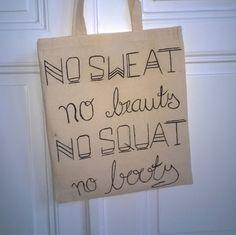 Jutebeutel Tote Bag Shopper Einkaufstasche Gym von CatsCorporation