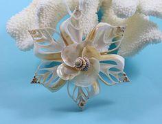 Seashell Ornament Beach Decor Christmas Ornament Shell