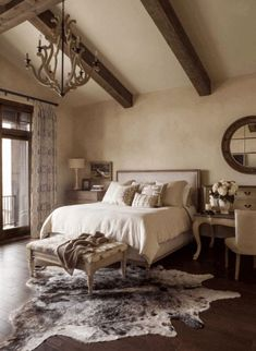 Spectacular neutral bedroom schemes for relaxation - Rustic bedroom decor - Warm Bedroom, Neutral Bedrooms, Home Decor Bedroom, Modern Bedroom, Bedroom Furniture, Bedroom Ideas, Bedroom Rugs, Master Bedrooms, Bedroom Wall