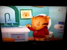 Daniel Tiger potty song (Not great quality but it works)