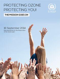 16 de septiembre, día Internacional para la protección de la capa de ozono.