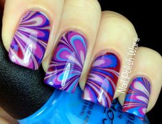 These are one of the prettiest nails I've ever seen!
