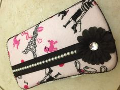 Embellished wipes case by Fluff N' Stuff. $9  https://m.facebook.com/FluffNStuffAlvaDiapersandAccessories?__user=635265332
