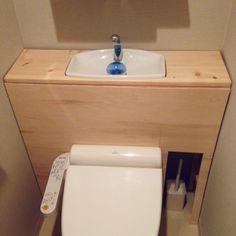 タンクレス DIY/トイレ改造計画…などのインテリア実例 - 2014-05-02 07:20:22