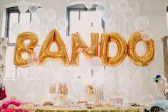 balloon backdrop from Ban.do