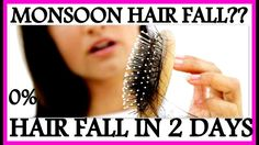 How to Stop Hair Fall in 2 days and Grow Hair Faster | Monsoon Hair Care...