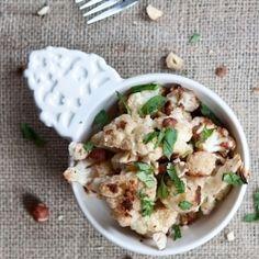 Garam masala roast cauliflower. Easy and delicious.