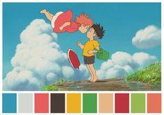 Ponyo - Colors