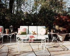 The Peak of Tres Chic: Backyard Bliss