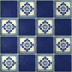 LeMog - 3dTextures - Carrelage Azuleros Bleus 2 - Tiles/322 tolede