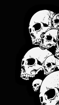Louis Vuitton Iphone Wallpaper, Dope Wallpaper Iphone, Dope Wallpapers, Skull Wallpaper, Dark Wallpaper, Skull Stencil, Stencil Art, Skull Art, Stix And Stones