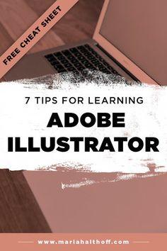 7 Tips for Learning Adobe Illustrator