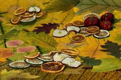 Dried Food Painting