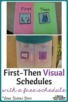 First-then visuals are great methods for helping students with communication needs to understand the order of activities. Get a free first-then board and check out…