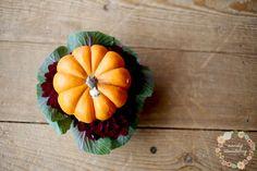 Min Pumpkin Dahlia Arrangement