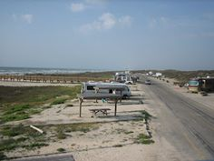 Another View Of Malaquite Beach Campground Padre Island National Seas