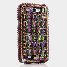 """Style # 709 This Bling case can be handcrafted for Samsung Galaxy S3, S4, Note 2. The current price is $79.95 (Enter discount code: """"facebook102"""" for an additional 10% off during checkout)"""