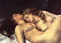 Sleep homosexuality lesbian Gustave Courbet art for sale at Toperfect gallery. Buy the Sleep homosexuality lesbian Gustave Courbet oil painting in Factory Price. French Paintings, Detailed Paintings, Art Paintings, Carpeaux, Munier, Art Français, Gustave Courbet, Lesbian Art, Mermaids And Mermen