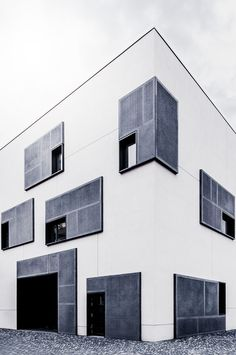 University building on a new campus in the city of Johann, Dresden, Germany, photo by Philipp Götze