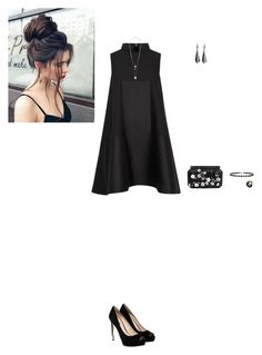 """Untitled #609"" by broken-scene-queen on Polyvore featuring Alexander McQueen, GUESS, Oscar de la Renta, Alor and Forever 21"