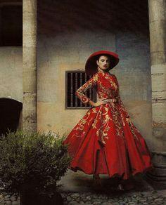Penelope Cruz for Vogue US  • Annie Leibovitz