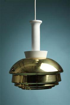 Ceiling lamp, Model A335, designed by Alvar Aalto for Artek