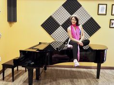 Rosalie Drysdale in Studio with Grand Piano Hammond Organ, The Hammond, Yamaha Grand Piano, Musical Composition, Going For Gold, Inspirational Music, Pitch Perfect, Original Music, She Song