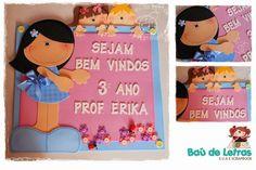 .::BAÚ DE LETRAS::. E.v.a. e Scrapbook: Material Pedagógico