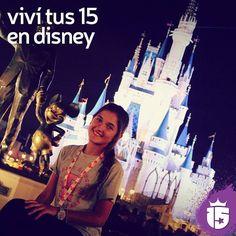 Llegar al castillo más hermoso y lindo de todos es el momento más soñado y preferido por todas. :: #enjoy15