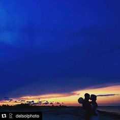 #UnlimitedVacationClub repost from @delsolphoto at #SecretsPlayaMujeres •••••••••••••••••••••••••••••••••••••••••••••••••••••• Amazing #sunset at this #destinationwedding congrats beautiful bride and groom !! #WeddingWednesday in #Paradise