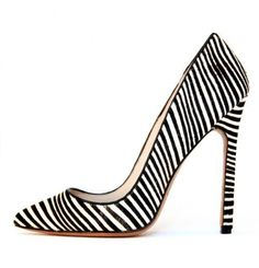 black and white heels <3