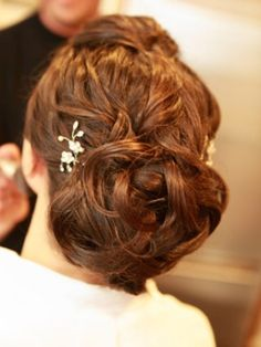 Wedding Hairstyles: 25 Hot Wedding Hairstyles A Messy Bun – The Knot
