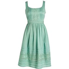 Reader Request Katie Home's Dress ($45) ❤ liked on Polyvore featuring dresses, vestidos, delias, mint, mint green dress, green dress and mint dress