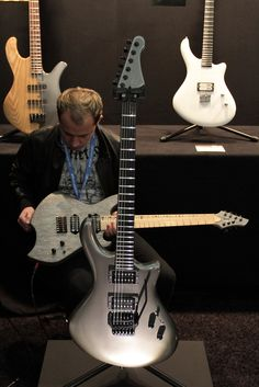 Zeal guitars (Musikmesse 2012)