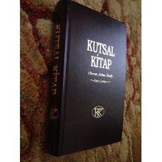 Turkish Large Bible 2011 Print / Kutsal Kitap (Tevrat, Zebur, Incil) Yeni Ceviri  $79.99